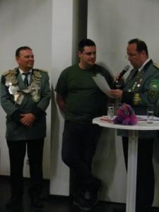 Das silberne Verdienstkreuz für Daniel Geuhs